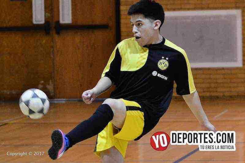 """La Liga de Cuenca se coronó campeón en la Serie """"B"""" en Club Deportivo Checa en Chicago, Illinois."""