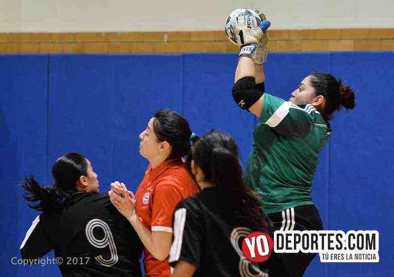 Milan-Lady Azteca- Club Deportivo Checa final femenil