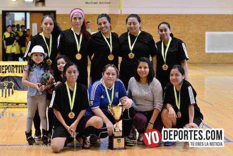 Milan campeonas de la Liga Club Deportivo Checa Chicago