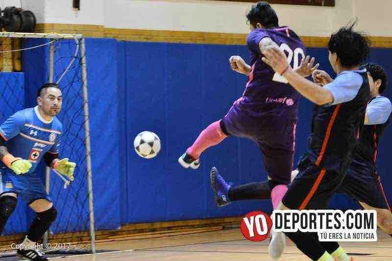 Portero tiro a gol Barza-Barrios Unidos-Liga Club Deportivo Checa