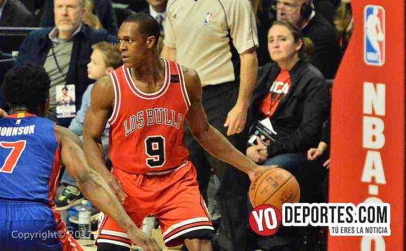Rajon RondoLos Bulls-Pistons Noche Latina NBA