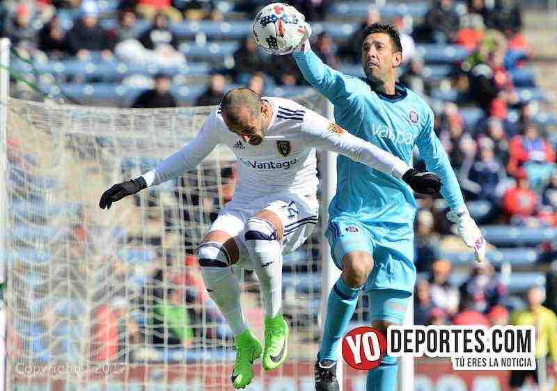 Rodrigo Bava portero de Chicago Fire-Real Salt Lake