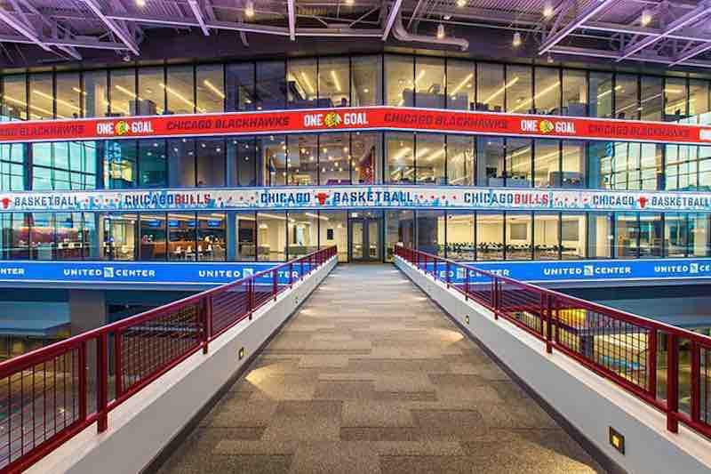 United Center-Chicago Atrium-Atrio