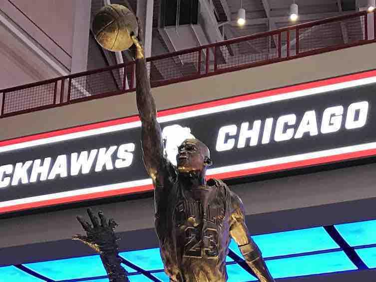 Michael Jordan regresa al United Center