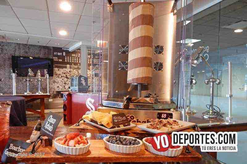 White Sox Media Tour Guaranteed Rate Field-alimentos