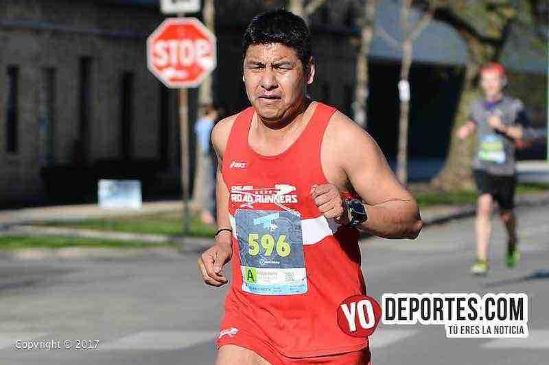 Alejandro Carbajal-Chicago Ravenswood 5K Run