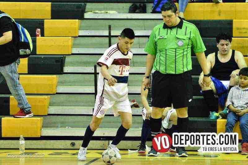 Arbitro Aaron Diaz-Inseparables B contra Chorritos de Luz de la Serie B en la Liga San Jose