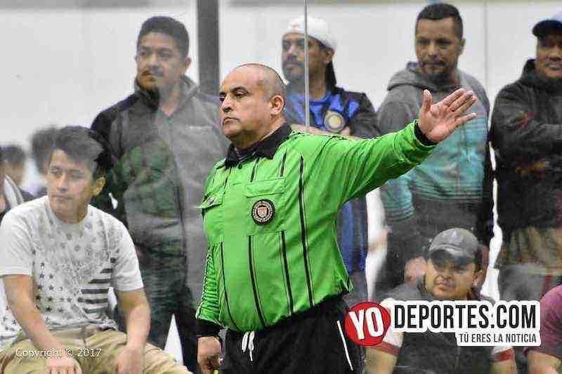 Arbitro Enrique Benitez-Ixcapuzalco-Deportivo Lobos FC 5 de Mayo Soccer League Chicago