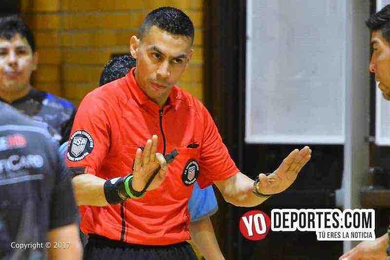 Eswin Hernandez ya es árbitro de la Federación de Fútbol de Estados Unidos