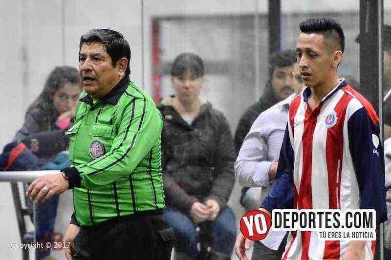 Arbitro Jesus Garcia Ramirez-Ixcapuzalco-Deportivo Lobos FC 5 de Mayo Soccer League Chicago