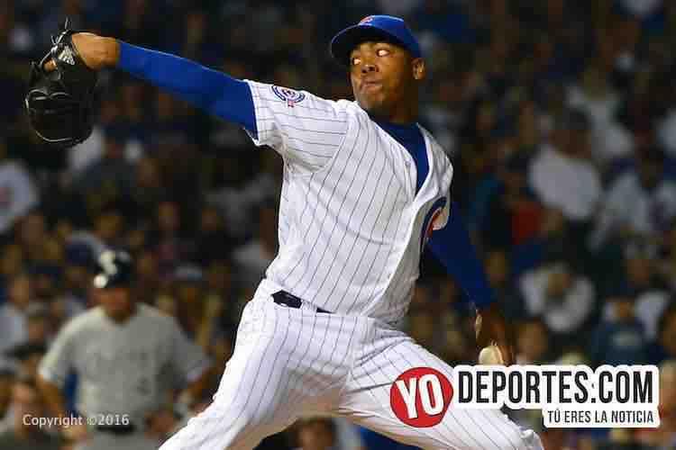Aroldis Chapman regresa a Chicago por su anillo de la Serie Mundial