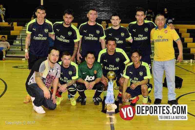 Arsenal campeon de la Serie A-Liga San Jose