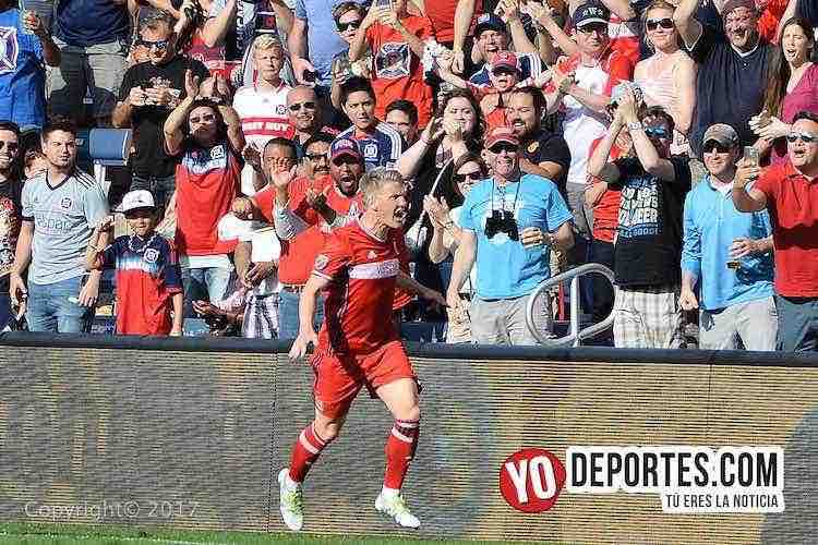 Bastian Schweinsteiger-chicago fire-new england revolution