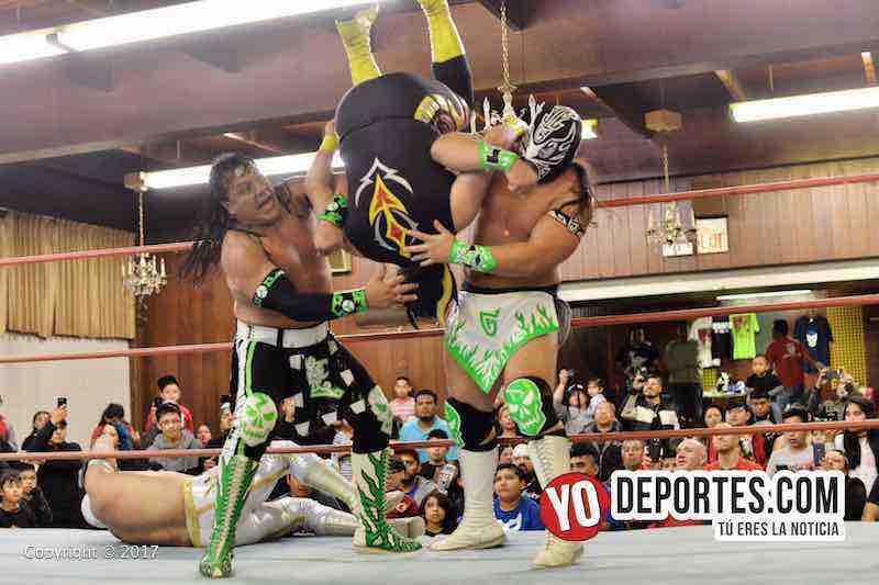 Caristico-Discovery-Ultimo Guerrero-Gran Guerrero-Chicago-Lucha Libre Total