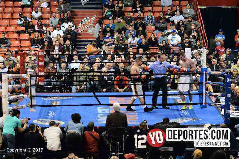 Cesar Cepillo Ruiz-Ruben Schobitz-Warriors Boxing-UIC Pavilion
