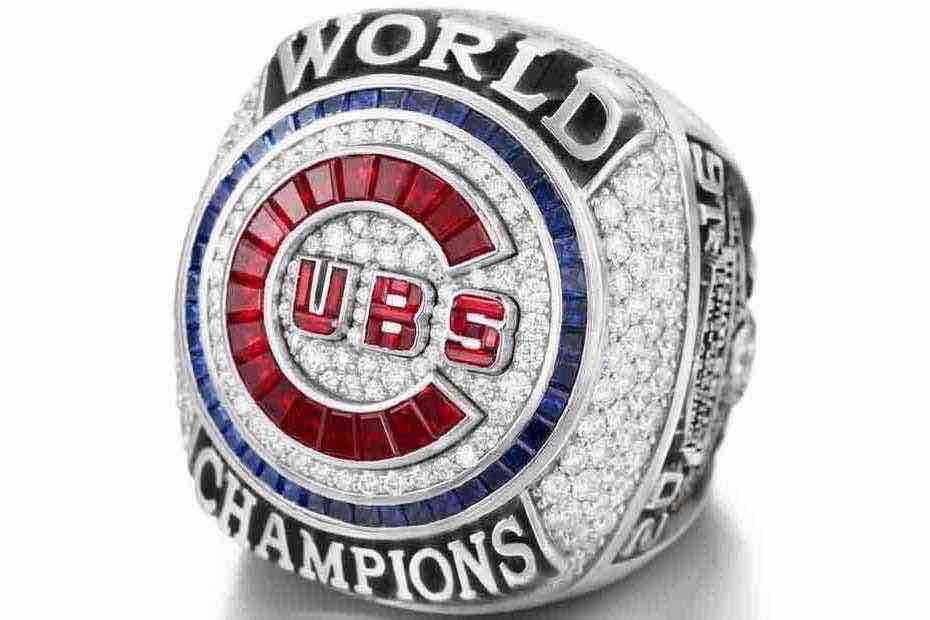Chicago Cubs World Series ring