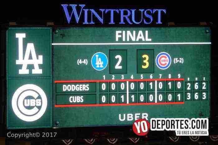 Cubs-Dodgers final