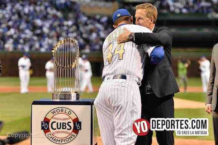 Cubs ring ceremony-Anthony Rizzo