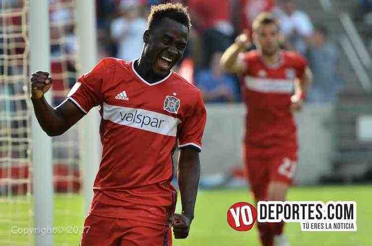 David Accam Chicago Cire 3-0 England Revolution