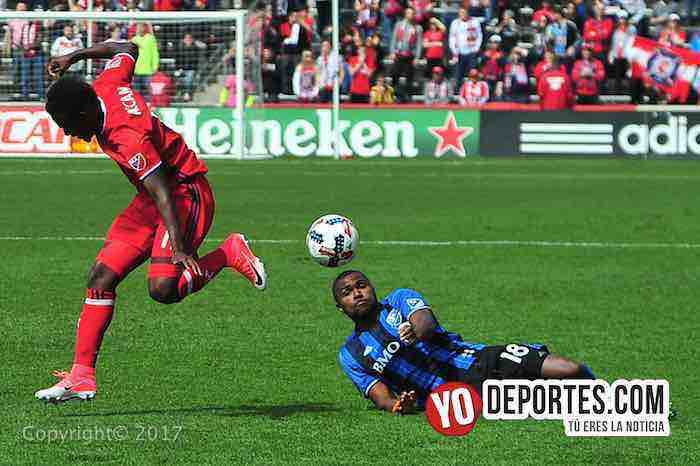 David Accam-Chicago Fire-Montreal Impact