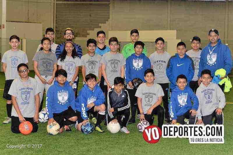 Tuzos de Chicago rumbo al Torneo Pachuca 2017 UFD