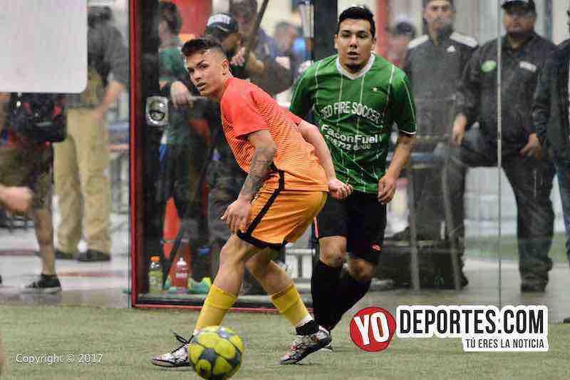 Honduras-Red Fire B-Final-5 de Mayo Soccer League-chicago indoor sports