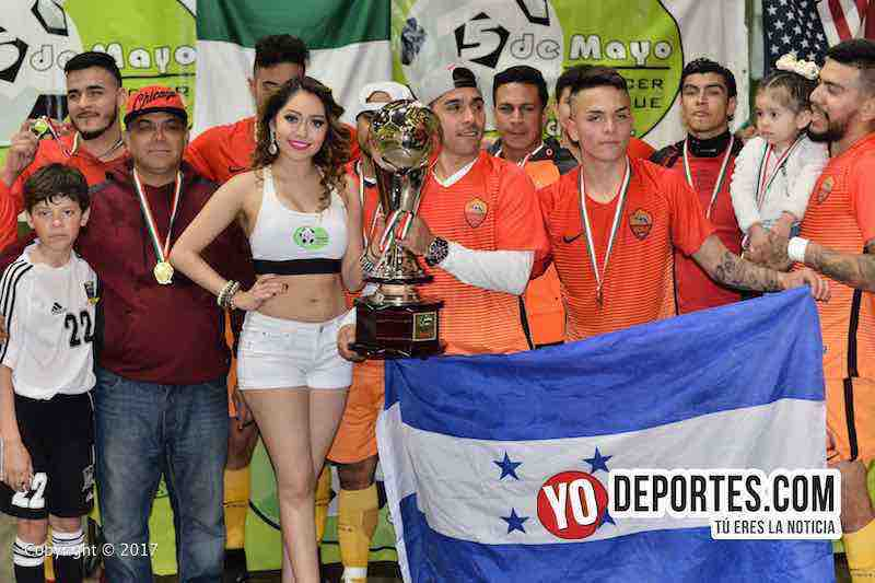 Honduras-campeon-Mayo Soccer League