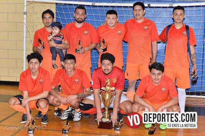 Internacional campeon Liga Diablitos