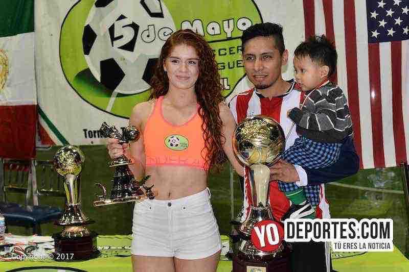 Ixcapuzalco-Alfredo Delgadillo-campeon-goleador-5 de mayo soccer league