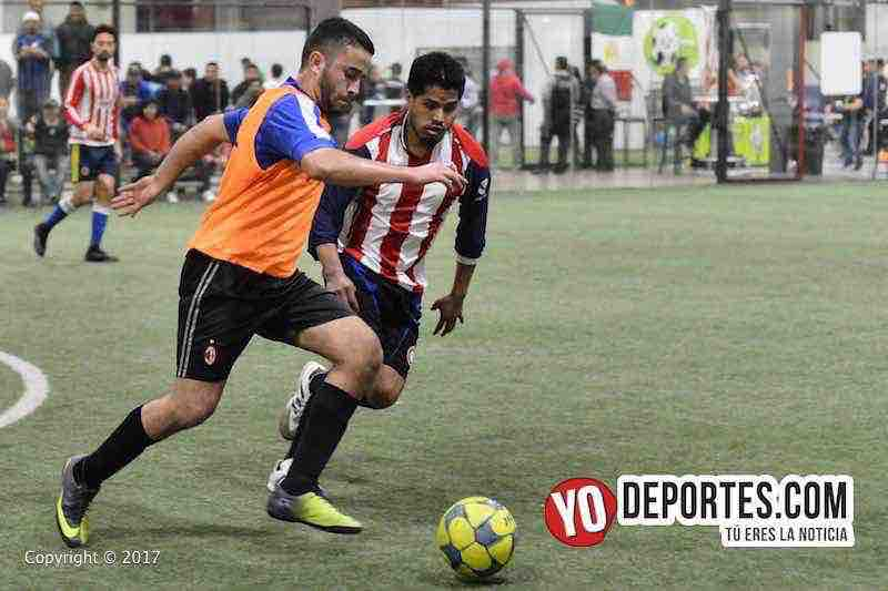 Ixcapuzalco-Deportivo Lobos FC 5 de Mayo Soccer League-Chicago Indoor Sports