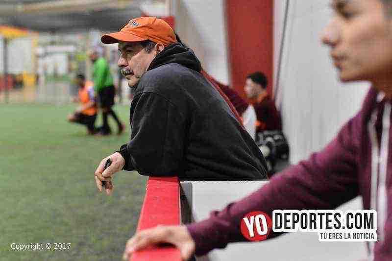 Ixcapuzalco contra Deportivo Lobos-Chicago Indoor Sports