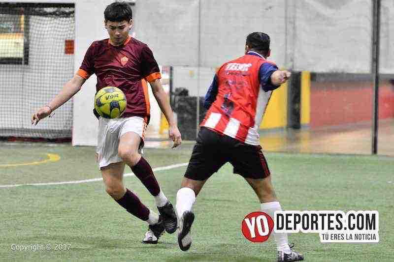 Ixcapuzalco contra Deportivo Lobos FC 5 de Mayo Soccer League Chicago