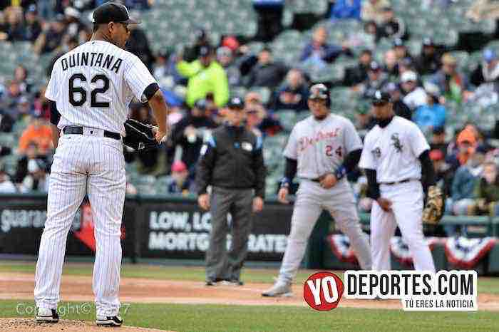 Jose Quintana-White Sox-Detroit Tigers