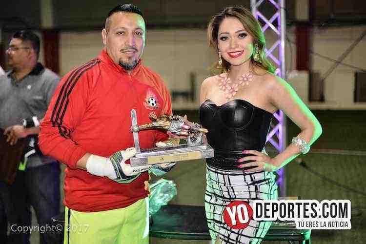 La Barona-Ludovico y su Banda-Final Champions-Liga Latinoamericana-portero