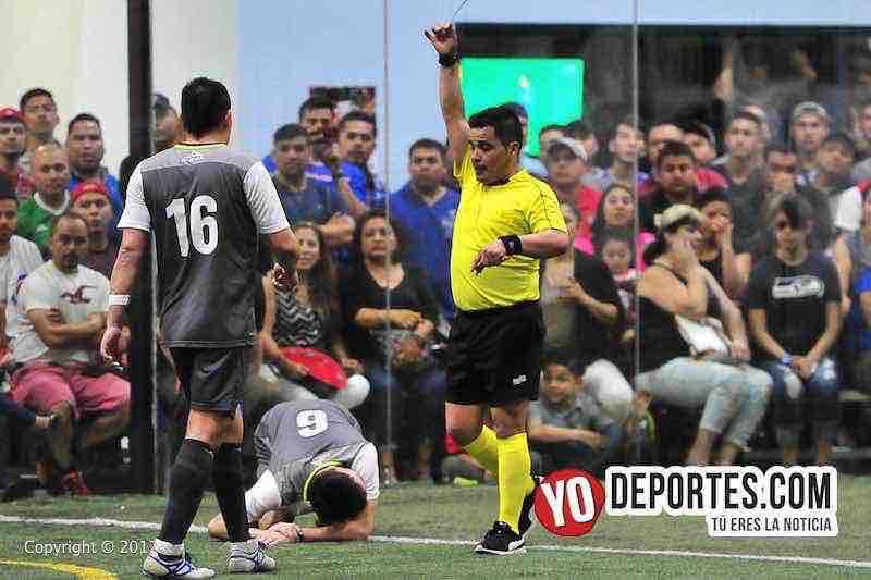 La Barona-Ludovico y su Banda-Final-Champions-arbitro Antonio Lopez