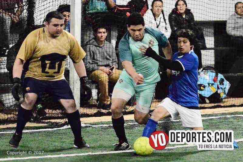 La Juve-La Mangana semifinal-Fuerza Latina Soccer League