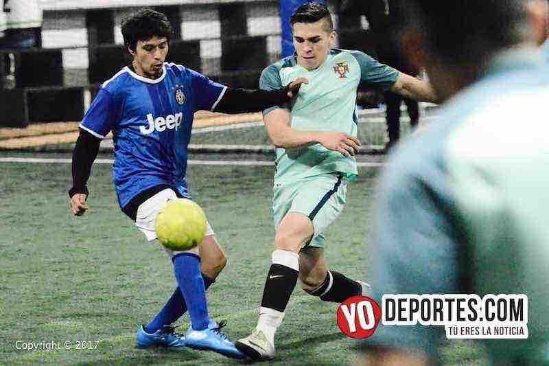 La Juve-La Mangana semifinal de Fuerza Latina Soccer League