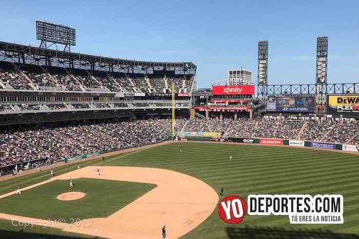 Medias Blancas-Guaranteed Rate Field