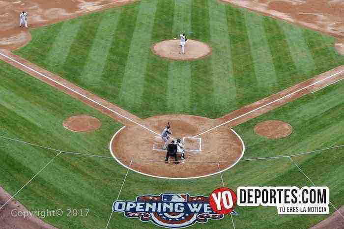 Opening Day en la casa de los White Sox contra Tigres de Detroit estadio Guaranteed Rate Field