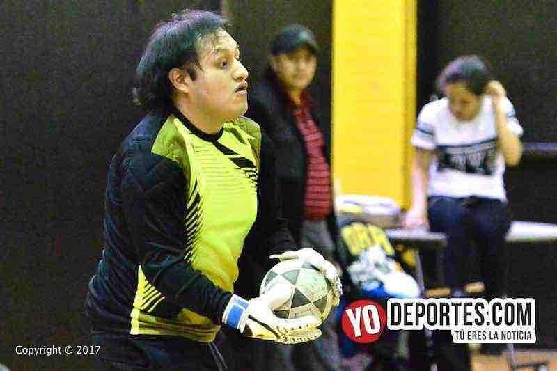 Portero-Inseparables B-Chorritos de Luz de la Serie B en la Liga San Jose.