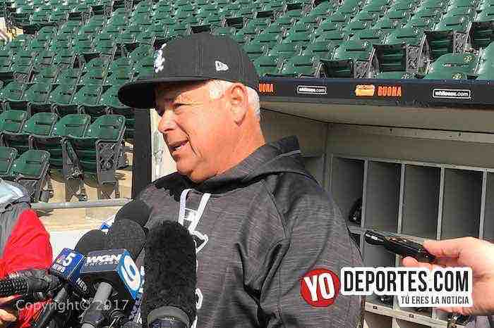 Rick Renteria Chicago White Sox manager