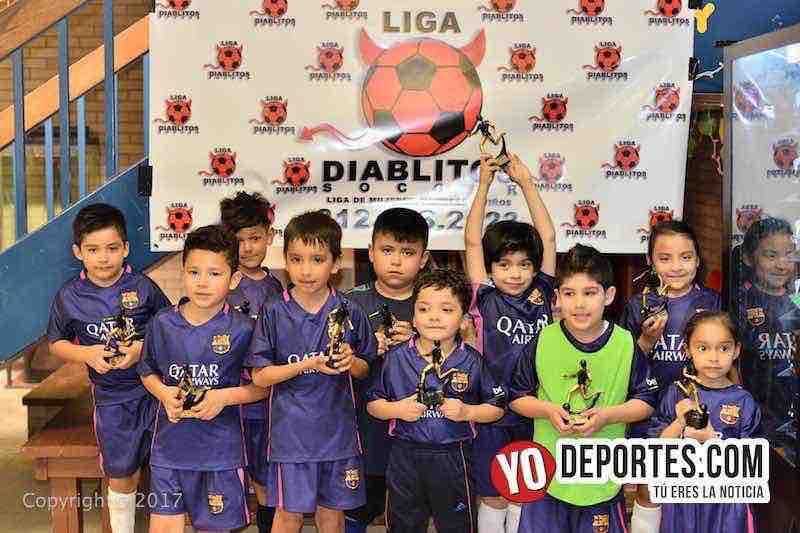 Transformes subcampeon U7-Liga Diablitos