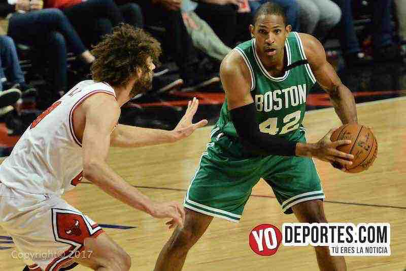 al horford-robin lopez-Chicago Bulls-Boston Celtics game 4