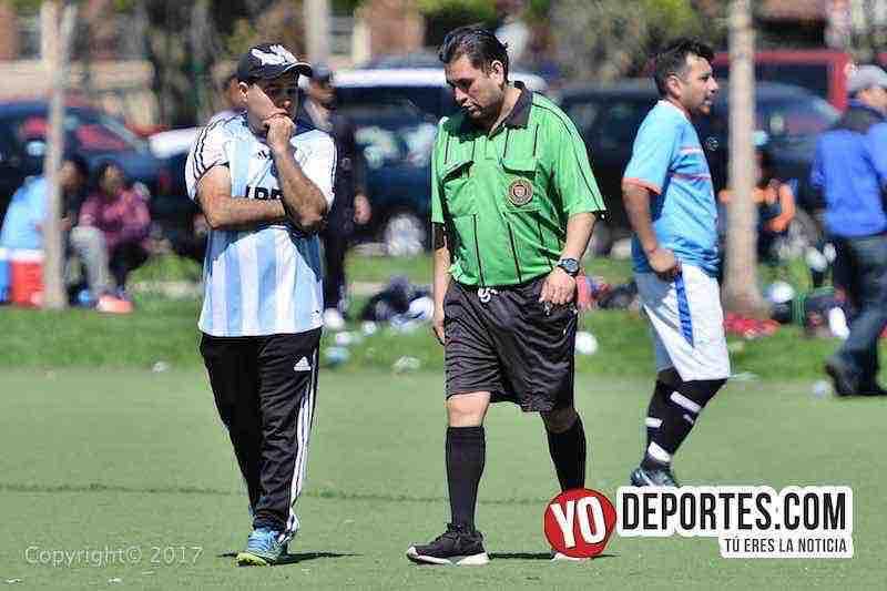 oscar trujillo-arbitro francisco lopez-Valedores-Deportivo Hidalgo-Liga Douglas