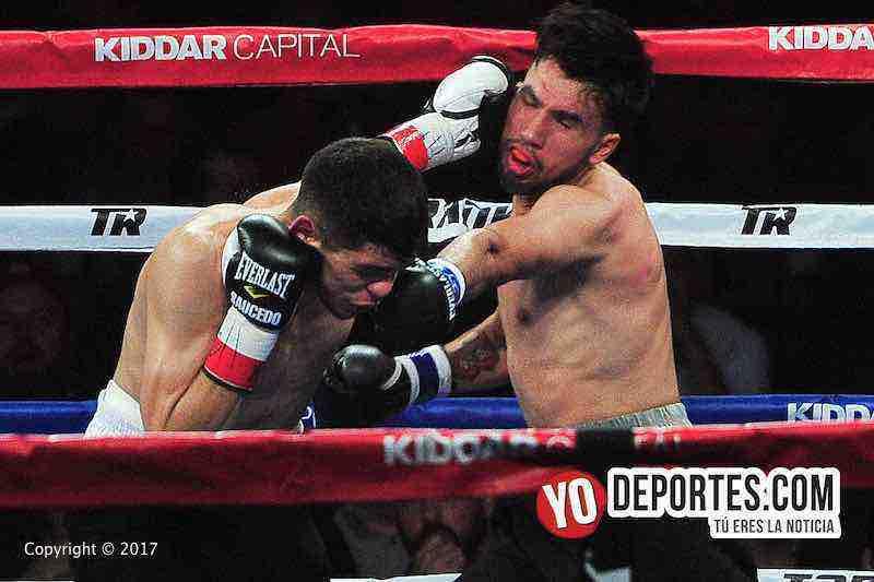 """Alex """"El Cholo"""" Saucedo derrota a Wilberth Lopez en Chicago para seguir invicto."""