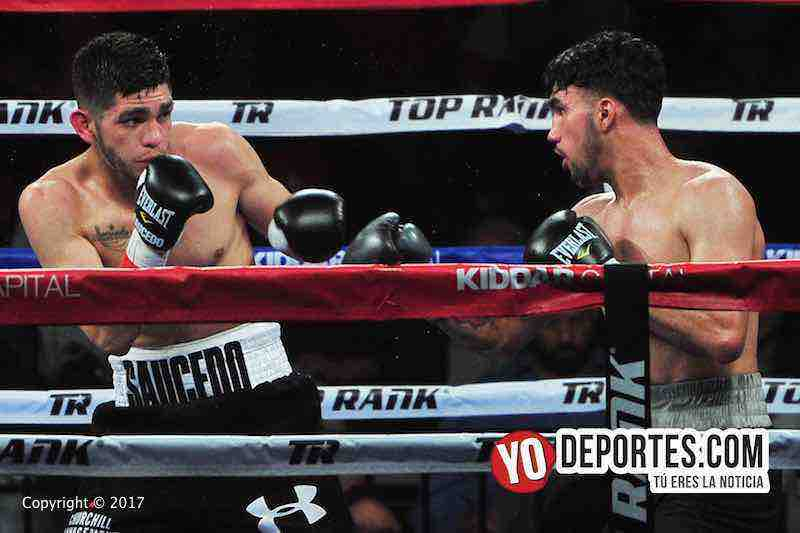 Alex El Cholo Saucedo-Wilberth Lopez-Top Rank-UIC Pavilion