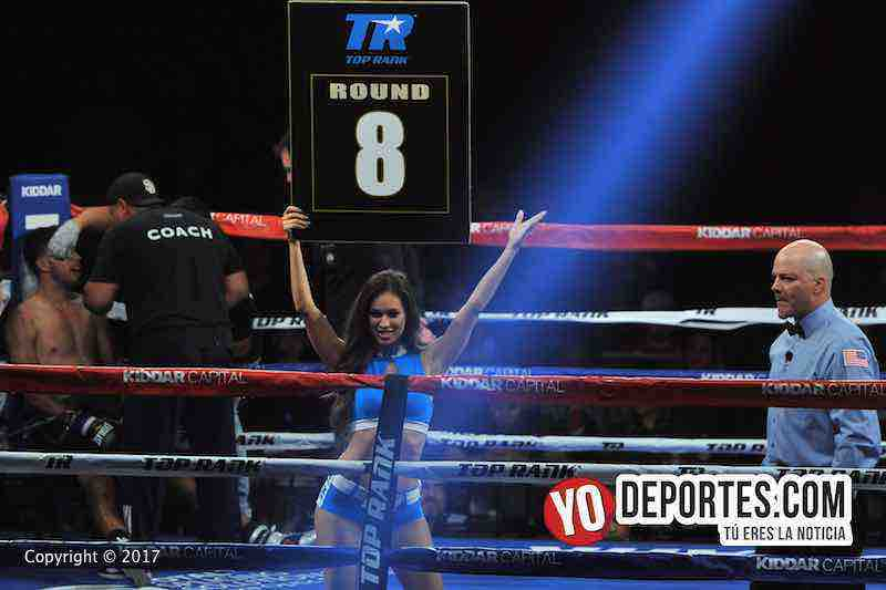 Alex El Cholo Saucedo-Wilberth Lopez-ring girl