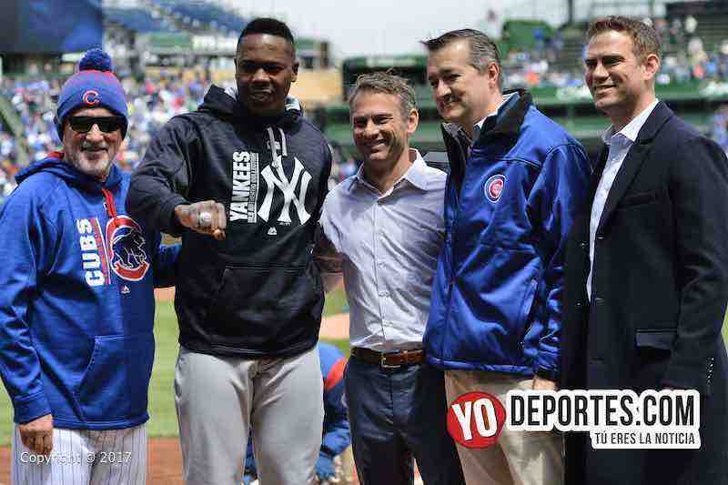 Aroldis Chapman-anillo-Cubs-Yankees-joe maddon-tom riketts-jed hoyer-theo epstein