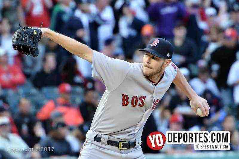Chris Sale regresó a Chicago para un duelo contra los Medias Blancas.