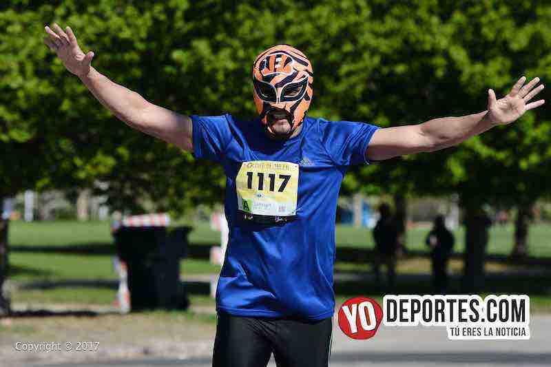 Damian Tapia-Chicago 5 de Miler